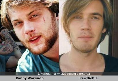 Danny Worsnop и PewDiePie