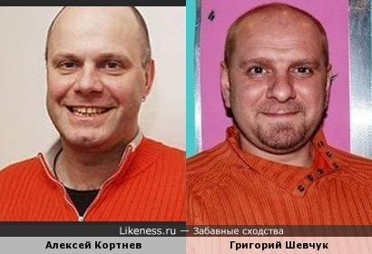Алексей Кортнев и Григорий Шевчук похожи всем даже кофтами