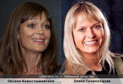 Две талантливые актрисы похожи.
