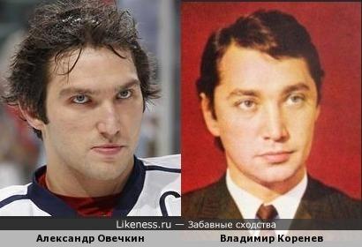 Александр Овечкин Похож на Человека-Амфибию.