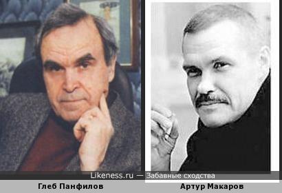 Артур Макаров и Глеб Панфилов