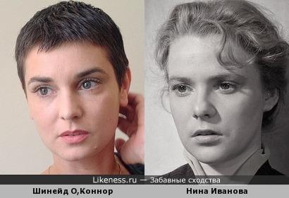 Шинейд О,Коннор и Нина Иванова 2