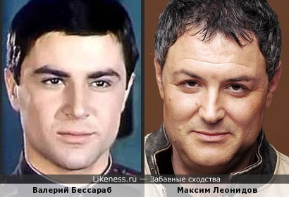 Валерий Бессараб и Максим Леонидов