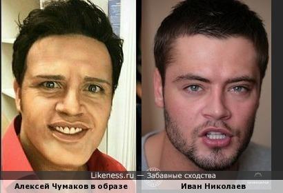 """Кого показал Алексей Чумаков в шоу """"Один в один"""