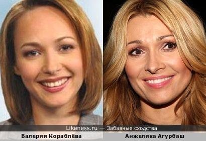 Валерия и Анжелика похожи!