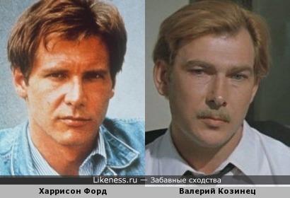 Валерий Козинец и Харрисон Форд