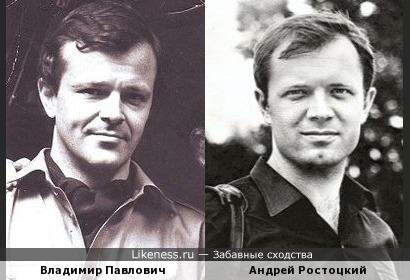 Андрей и Владимир похожи