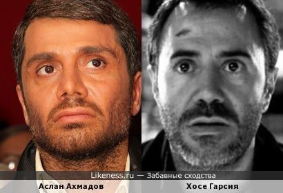 Аслан Ахмадов и Хосе Гарсия