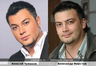 Телеведущий Нижегородского ТВ Александр Фирстов похож на Алексея Чумакова