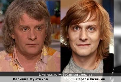 Сергей Казанин и Василий Фунтиков