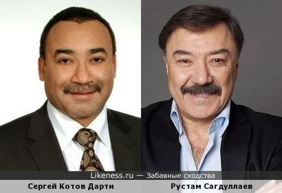 Сергей Котов Дарти и Рустам Сагдуллаев