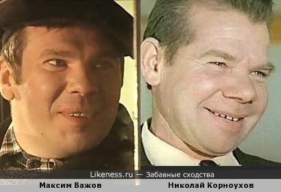 Максим похож на Николая