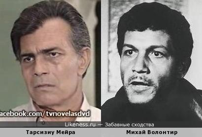 Михай Волонтир и Тарсизиу Мейра