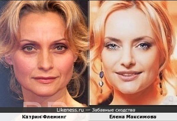 Елена и Катрин похожи