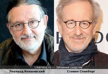 Стивен Спилберг и Леонард Янишевский