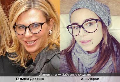 Татьяна Дробыш и Ани Лорак