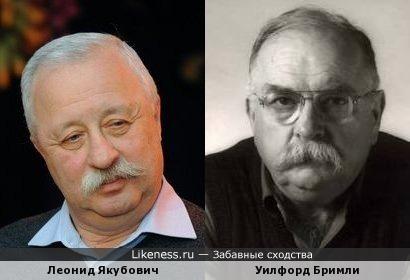 Леонид Якубович похож на Уилфорда Бримли