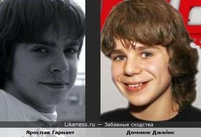 Доминик Джейнс похож на Ярослава Гарнаева
