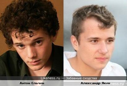 Александр Якин похож на Антона Ельчина