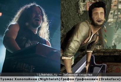 Клавишника Nightwish отграфонили