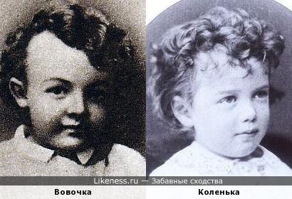 Ленин похож на Николая Второго