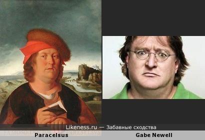 Парацельс и Гэйб Ньюел определённо похожи