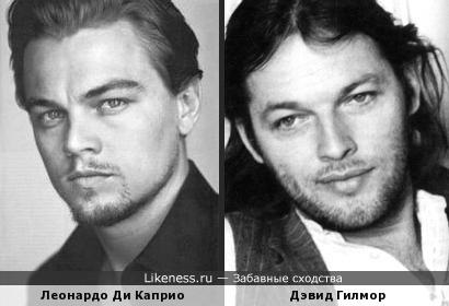 Леонардо Ди Каприо похож на Дэвида Гилмора