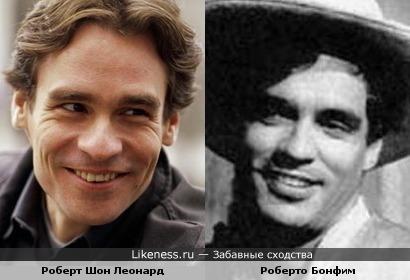Роберт Шон Леонард похож на молодого Роберто Бонфима