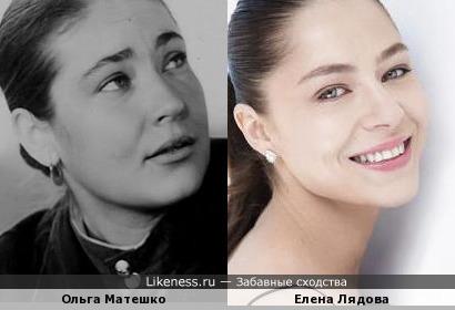 Елена Лядова и Ольга Матешко