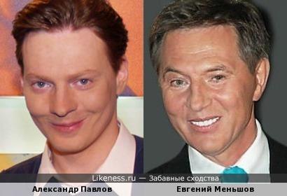 Александр Павлов смахивает на Евгения Меньшова