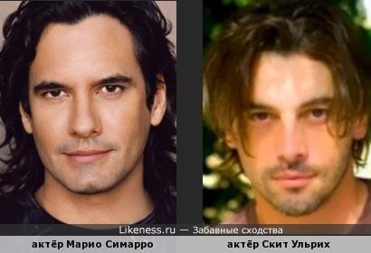 Mario Cimarro (Мексика) & Skeet Ulrich (Соединённые Штаты Америки)