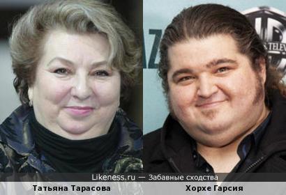 Татьяна Тарасова и Хорхе Гарсия