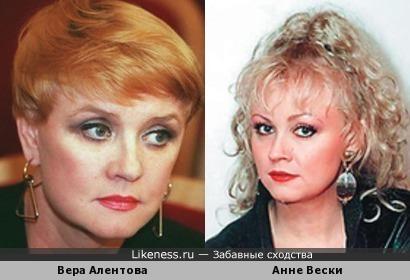 Вера Алентова и Анне Вески
