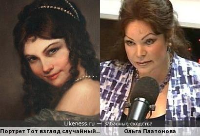 Ольга Платонова и женский портрет
