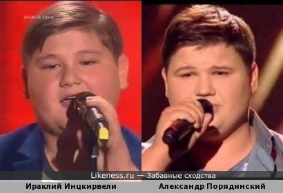 Ираклий Инцкирвели и Александр Порядинский