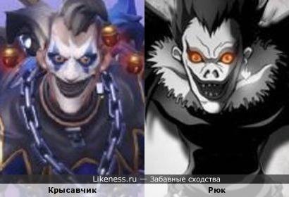 Персонаж из игры Overwatch похож на персонажа из мультсериала Рюка.