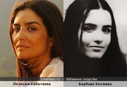 Летисия Сабателла похожа на Барбару