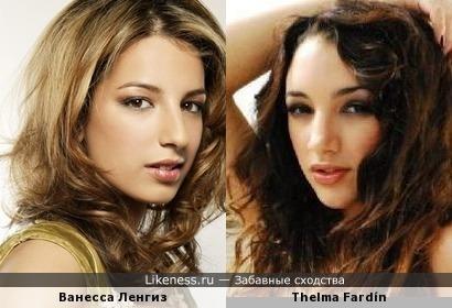 Ванесса Ленгиз и Thelma Fardín