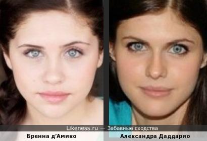Бренна похожа на Александру.