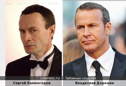 Сергей Холмогоров серьёзен как Владислав Доронин