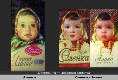 Аленка, Оленка или все-таки Алина?))))