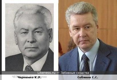 Собянин vs Черненко