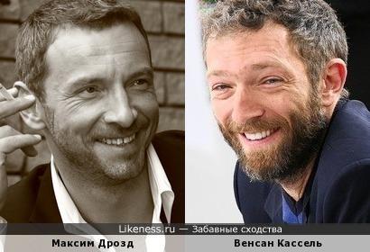 Максим Дрозд напоминает Венсана Касселя