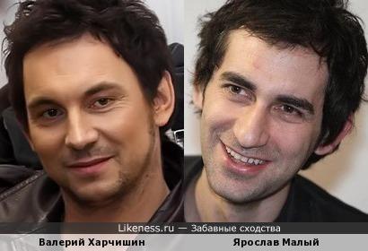 Ярослав Малый и Валерий Харчишин