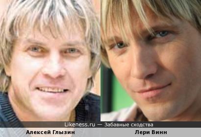 Алексей Глызин и Лери Винн