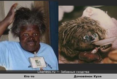 Домовенок кузя на likeness ru 30 сходств