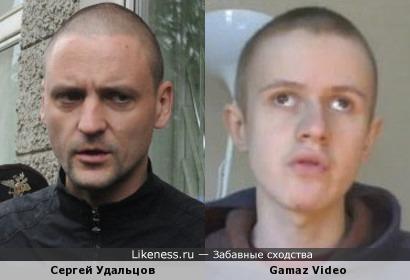 Сергей Удальцов похож на Ивана Гамаза