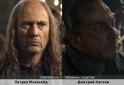 Патрик Мэлахайд и Дмитрий Нагиев