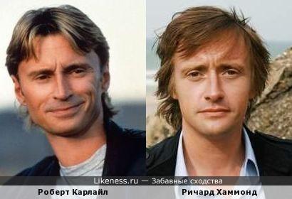 Роберт Карлайл и Ричард Хаммонд