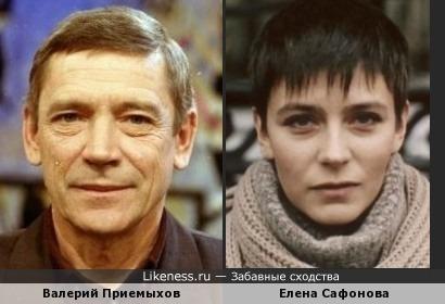 Валерий Приемыхов и Елена Сафонова